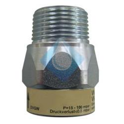 Valvula limitadora de caudal (GAS)