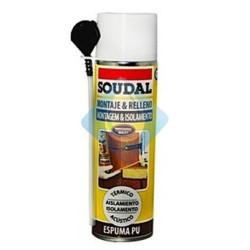Espuma de poliuretano canula 300 ml SOUDAL