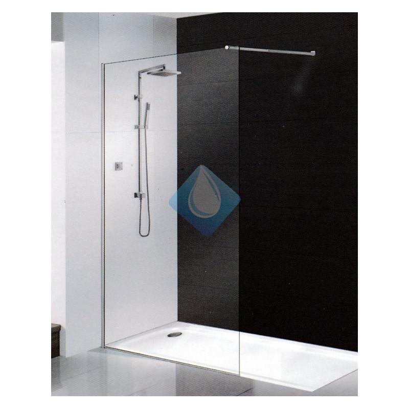 Mampara ducha cristal 90 cm sin perfil 6 mm - Mampara cristal ducha ...