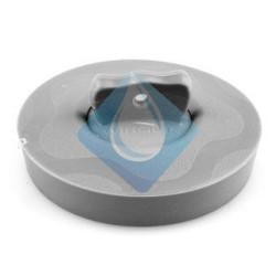 Tapón goma universal 36-58 mm. GRIS