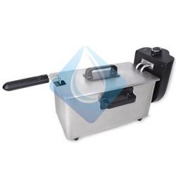 Freidora INOX KUKEN  2000 W. 3.0 L