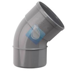 Codo PVC  45º M-H