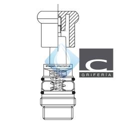 Inversor autómatico baño ducha Clever Saona Infinity
