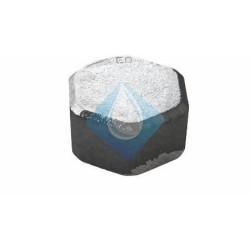 Tapón Hexagonal Hembra Negro Fig. 300