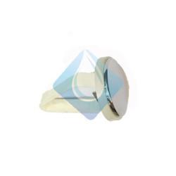 Tapon embellecedor lateral para cisternas cromo