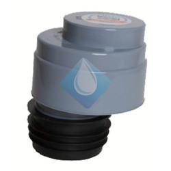 Valvula aireación conexión con junta   Ø110
