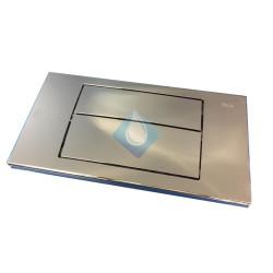 Placa accionamiento Duplo-N Roca  320x170 Cromo Brillo
