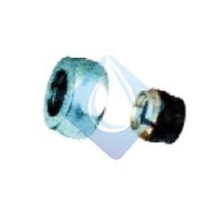 Racor estanqueidad con bicono de goma para conexión tubo de cobre